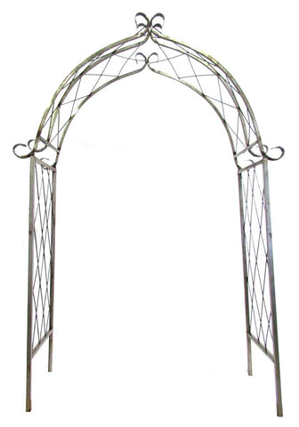 Wrought Iron Castel Arbor - Remy's Furniture Warehouse