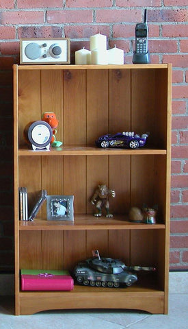 "42"" Pine Bookcase - Remy's Furniture Warehouse"