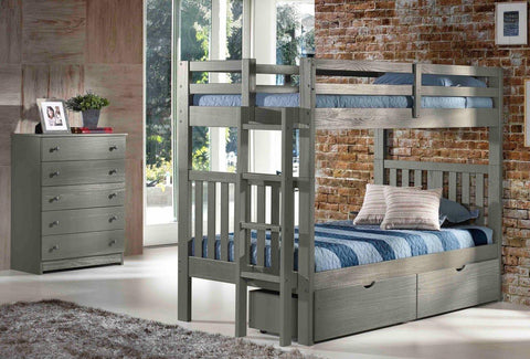 cambridge bunk bed with shortladder