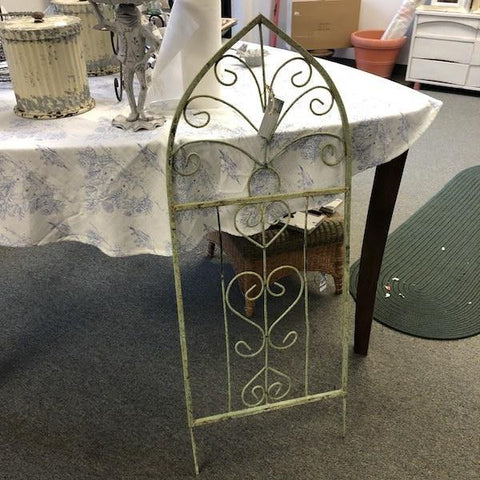 Green Wrought Iron Trellis - Remy's Furniture Warehouse