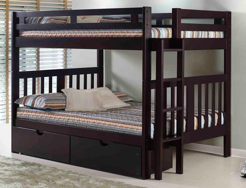 Roma Bunk Bed - Remy's Furniture Warehouse