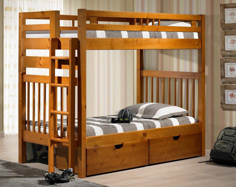 Sacramento Bunk Bed - Remy's Furniture Warehouse