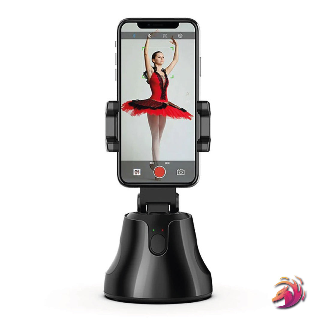 Smartphone Holder New Generation 360° Smart Rotating - Face & Object Tracking (With APP)
