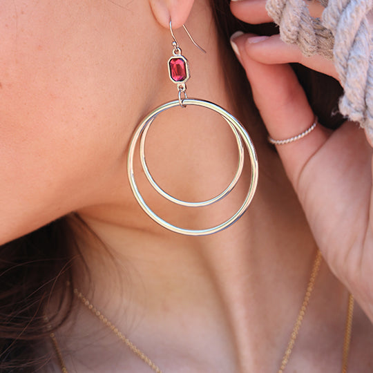 Dylan Hoop Earrings