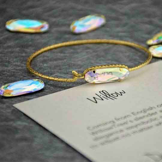Willow Precious Metal Bangles
