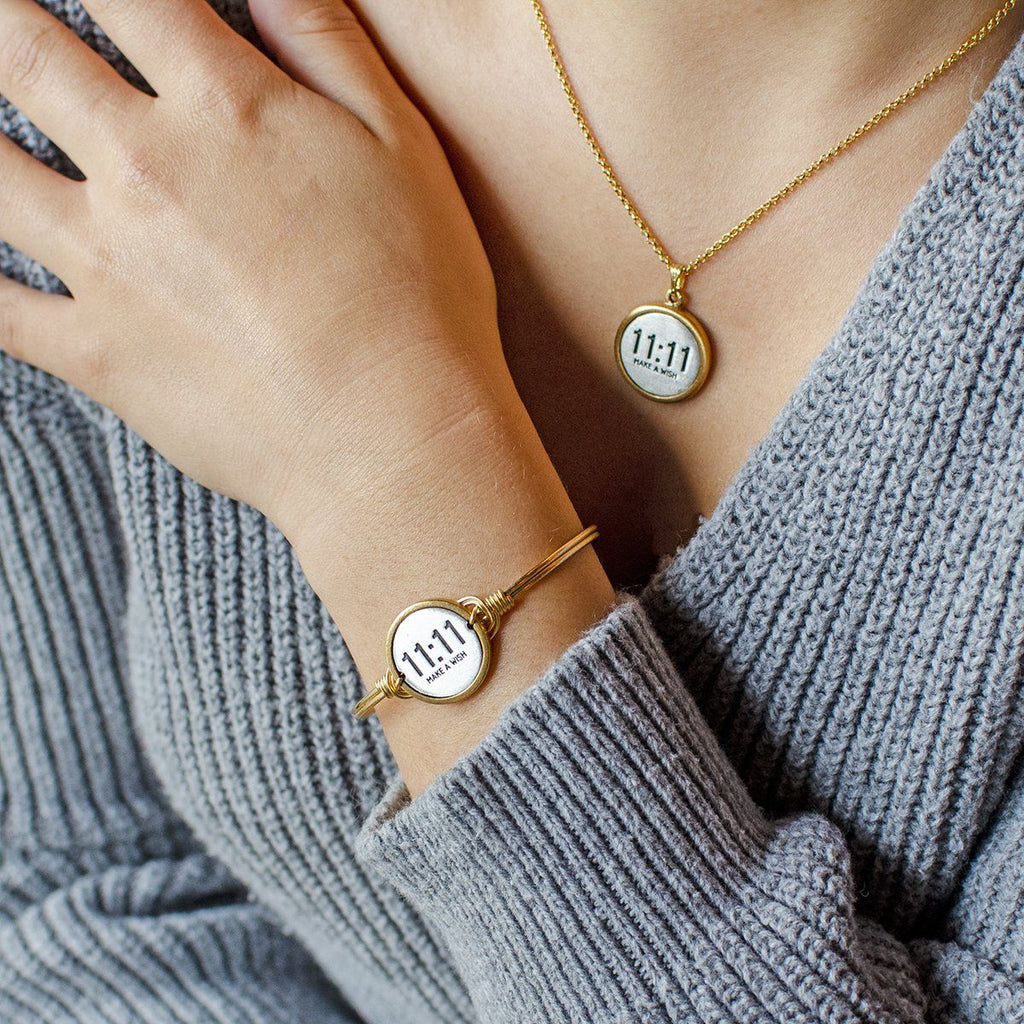 11:11 Bangle + Necklace Set