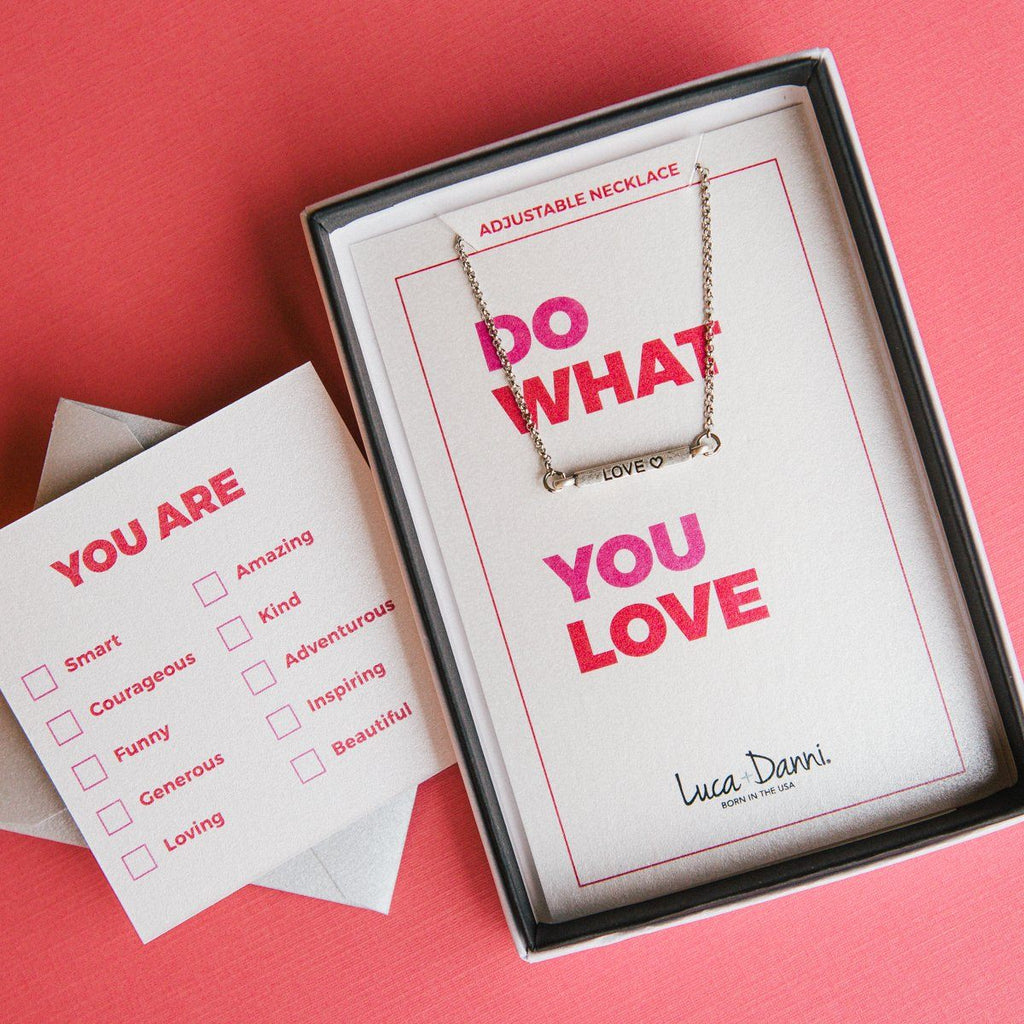 Do What You Love Necklace-Necklace-finish:-Luca + Danni