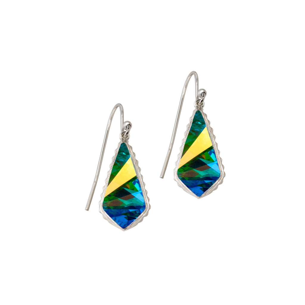 Sterling Silver Sloane Earrings In Crystal AB