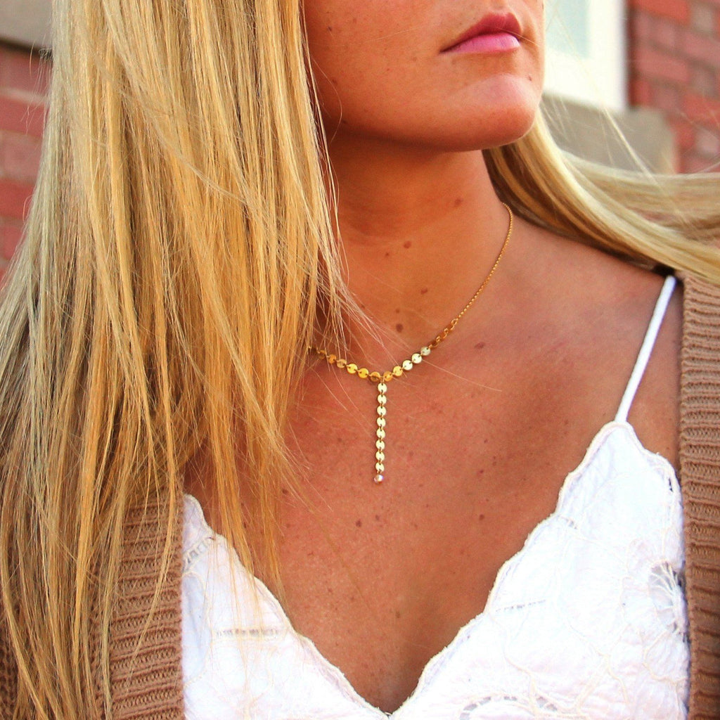 Sterling Silver Kinsley Choker Necklace