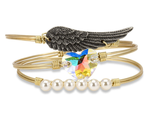 Mother's Day Angel Wing Heart Stack (Limited Edition)