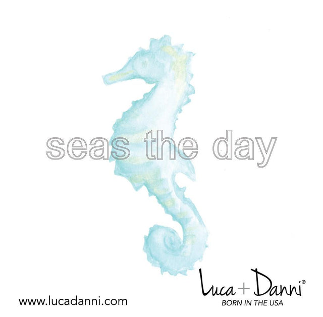 Seahorse Bangle Bracelet-Bangle Bracelet-finish:-Luca + Danni