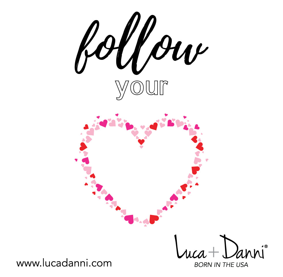 Follow Your Heart Bangle Bracelet-Bangle Bracelet-finish:-Luca + Danni