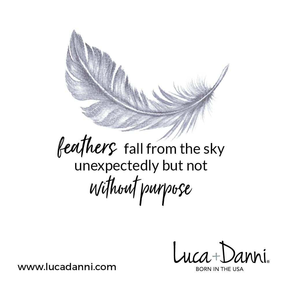 Lucky Feather Bangle Bracelet-Bangle Bracelet-finish:-Luca + Danni