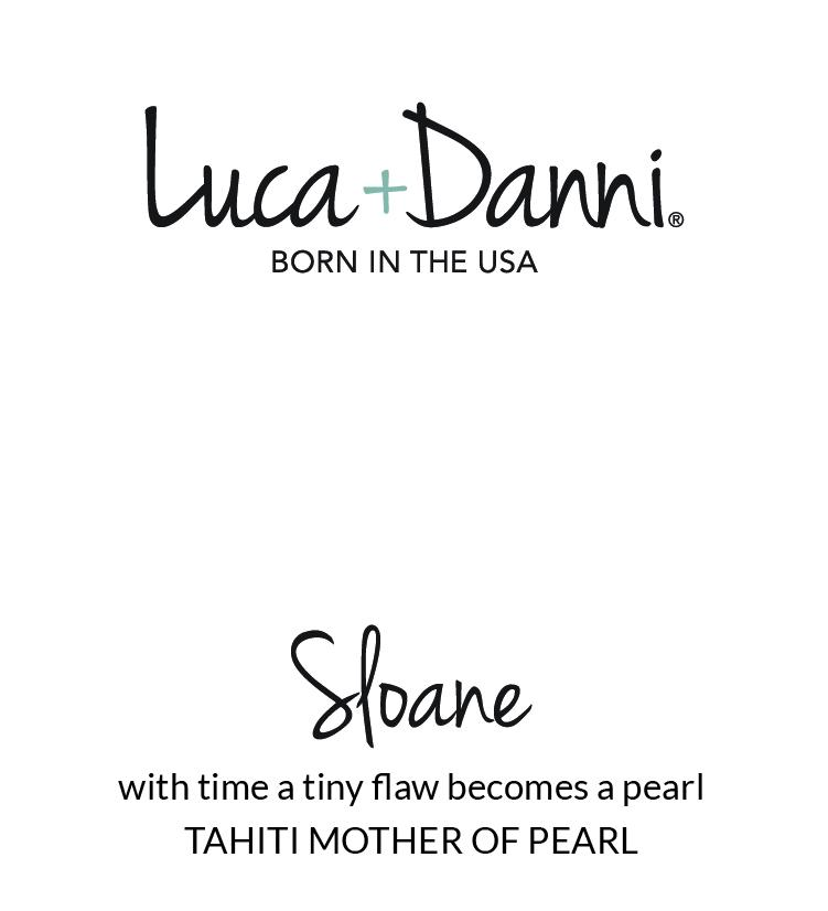 Sloane Ring in Tahiti Mother of Pearl-Rings-finish:18kt Gold Plated-Size 6-Luca + Danni