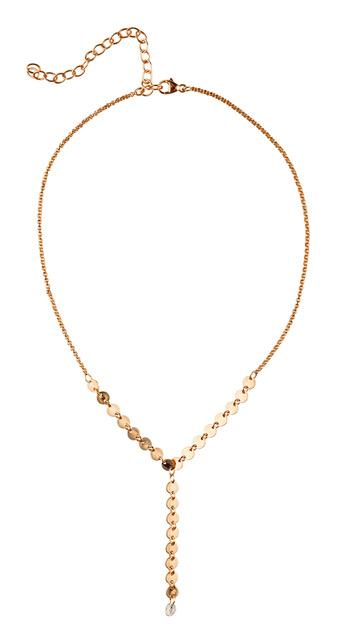 Sterling Silver Kinsley Choker Necklace In Rose Gold