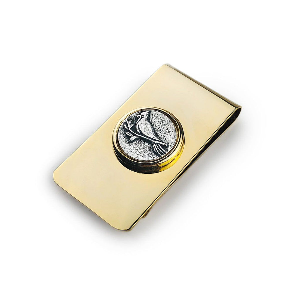 Cardinal Money Clip finish:18kt Gold Plated