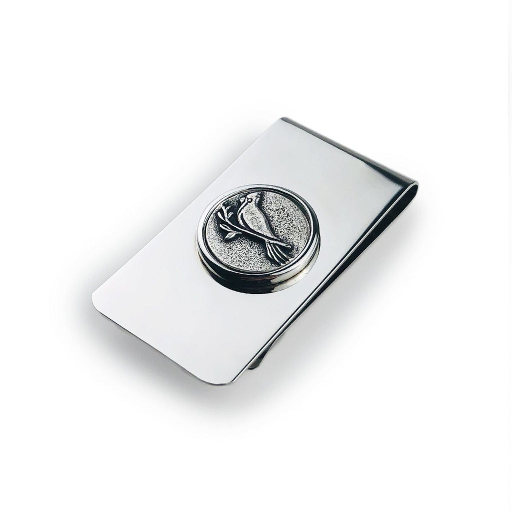 Cardinal Money Clip finish:Silver Plated