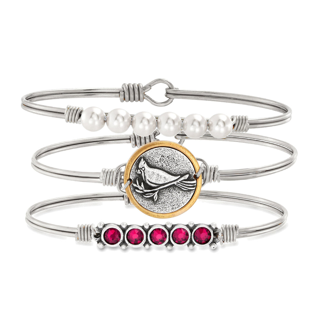 Always With You Stack choose finish:Silver Tone