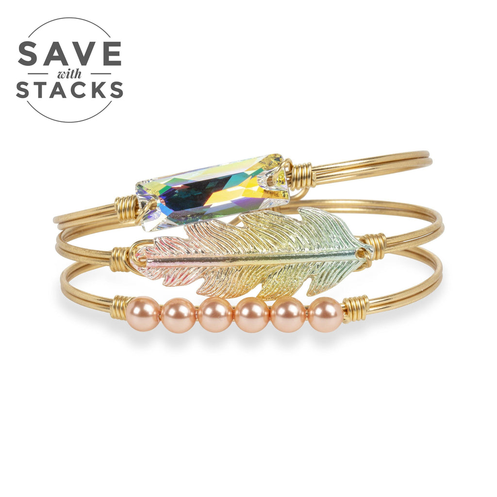 Spring It On Stack choose finish:Brass Tone