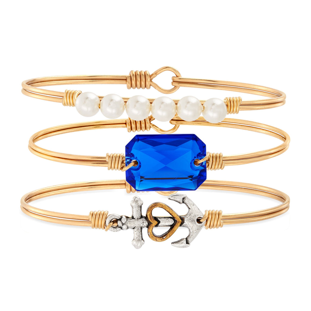 Anchors Away Stack choose finish:brass tone