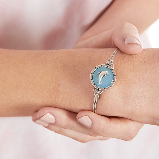 Dolphin Isla Bangle Bracelet
