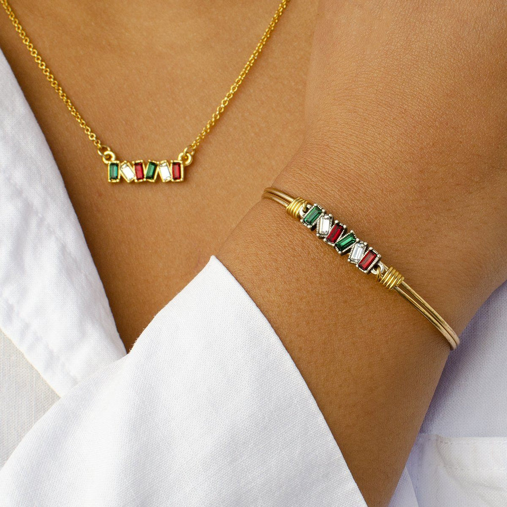 Italy Bangle + Necklace Set