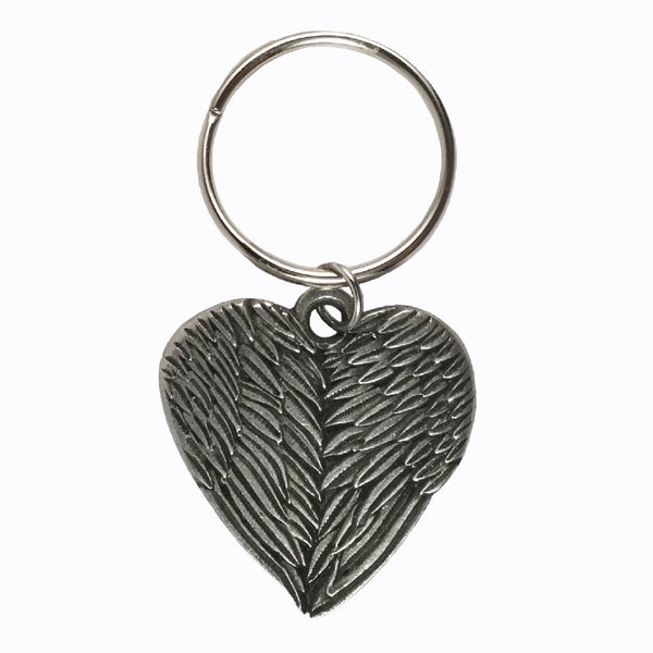 Mother's Day Angel Wing Heart Keychain (Limited Edition)