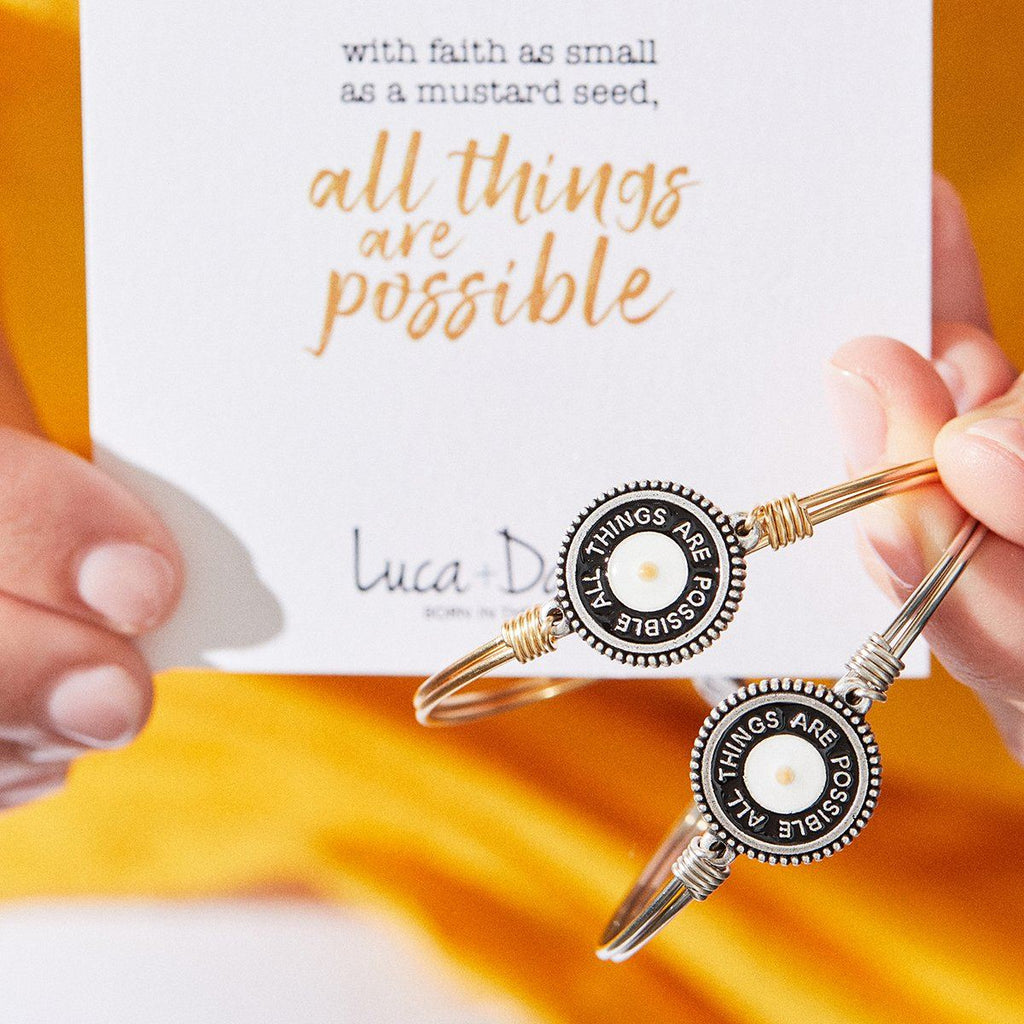 All Things Possible Bangle Bracelet