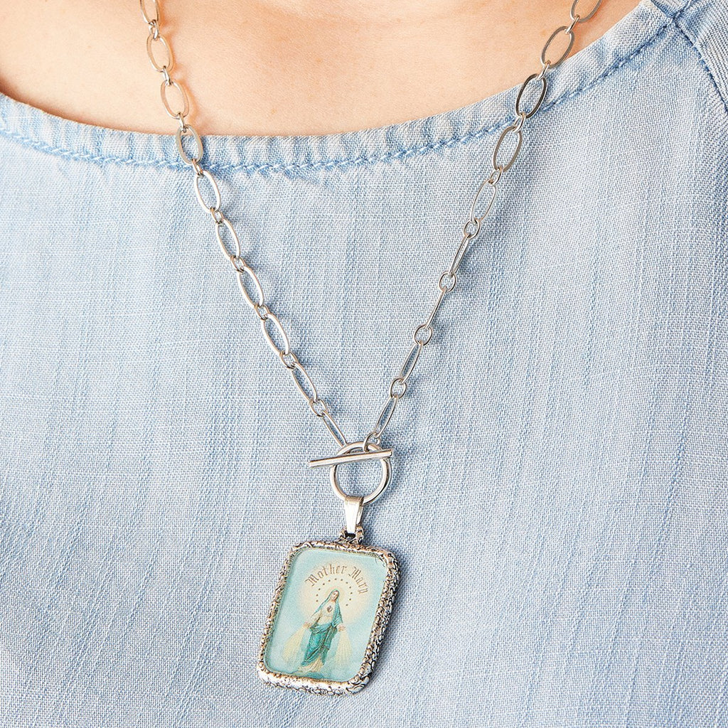 Immaculate Mother Toggle Necklace