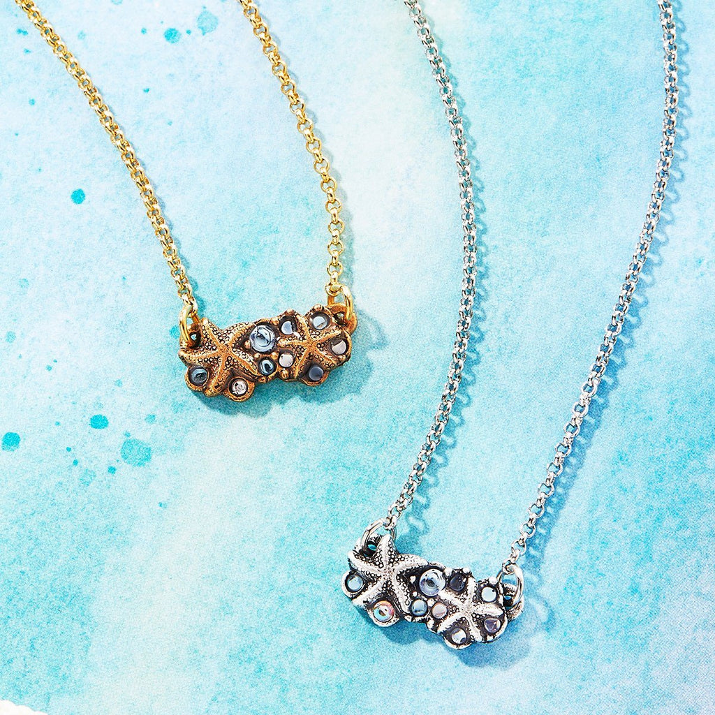Starfish Medley Necklace