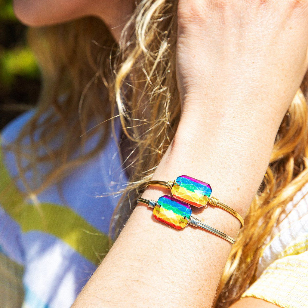 Rainbow Dylan Bangle Bracelet