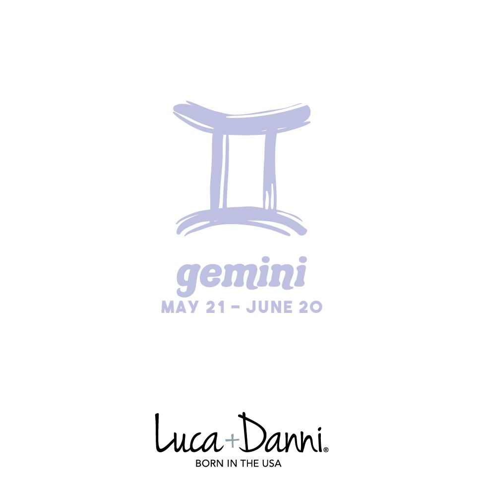 Gemini Zodiac Bangle Bracelet choose finish: