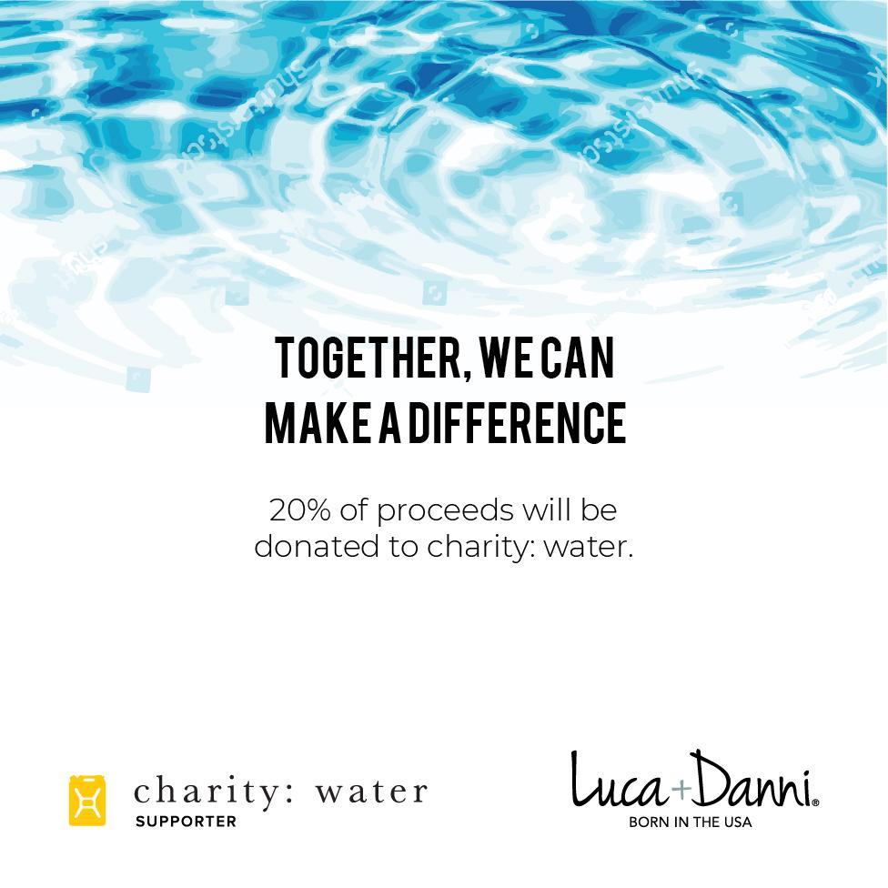 Water Charity Bangle Bracelet