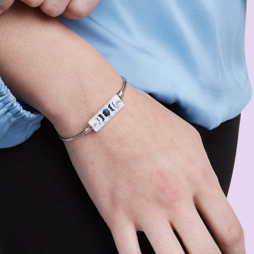 Luna Bangle Bracelet choose finish: