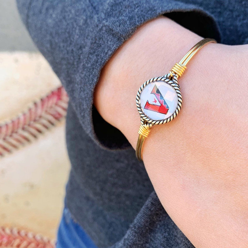 Arizona Diamondbacks Bangle Bracelet choose finish: