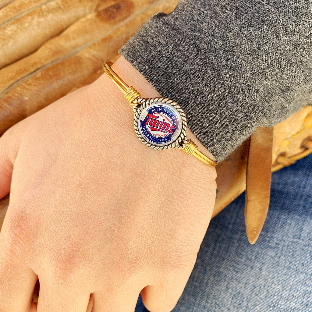 Minnesota Twins Bangle Bracelet choose finish: