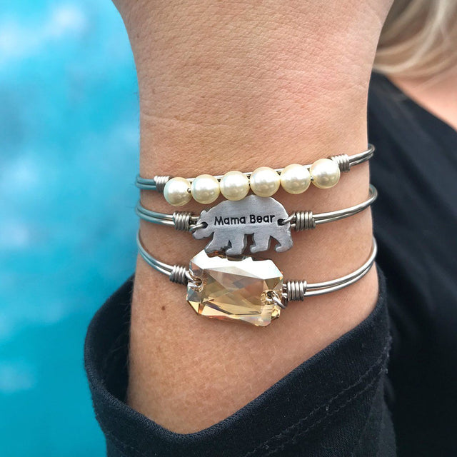 Mama Bear Stack in Champagne