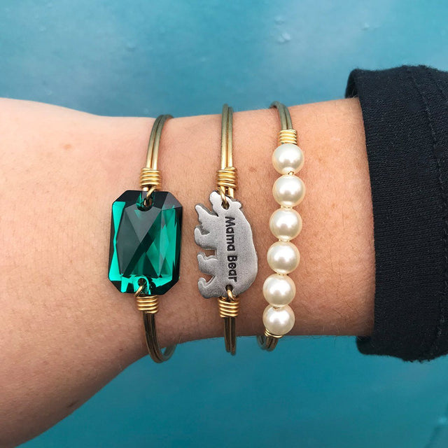 Mama Bear Stack in Emerald