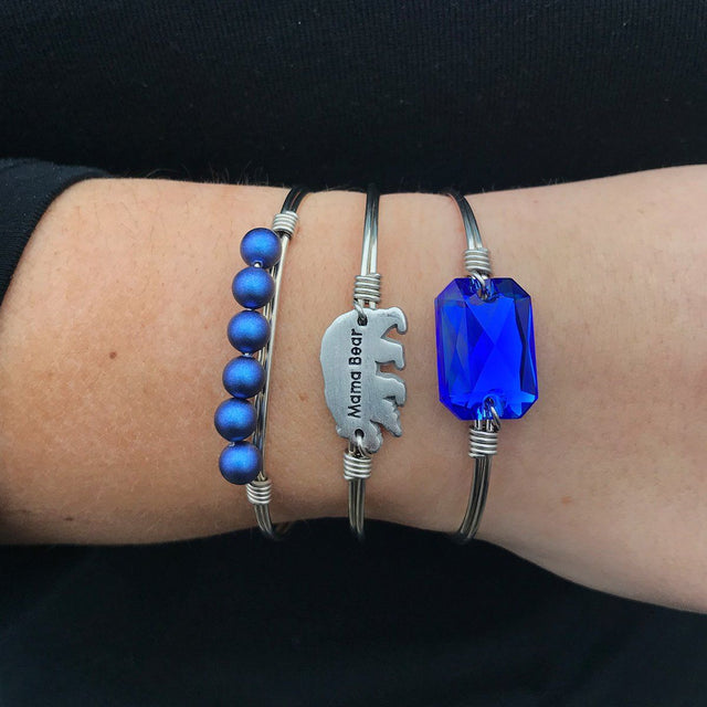 Mama Bear Stack in Majestic Blue