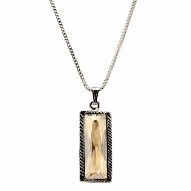 Hudson Statement Necklace In Champagne