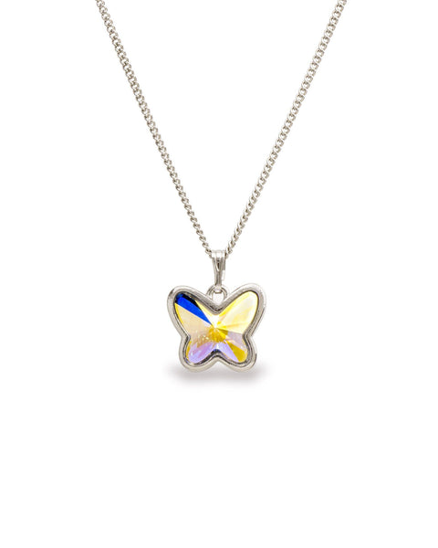 Crystal AB Mother's Day Butterfly Necklace (Limited Edition)