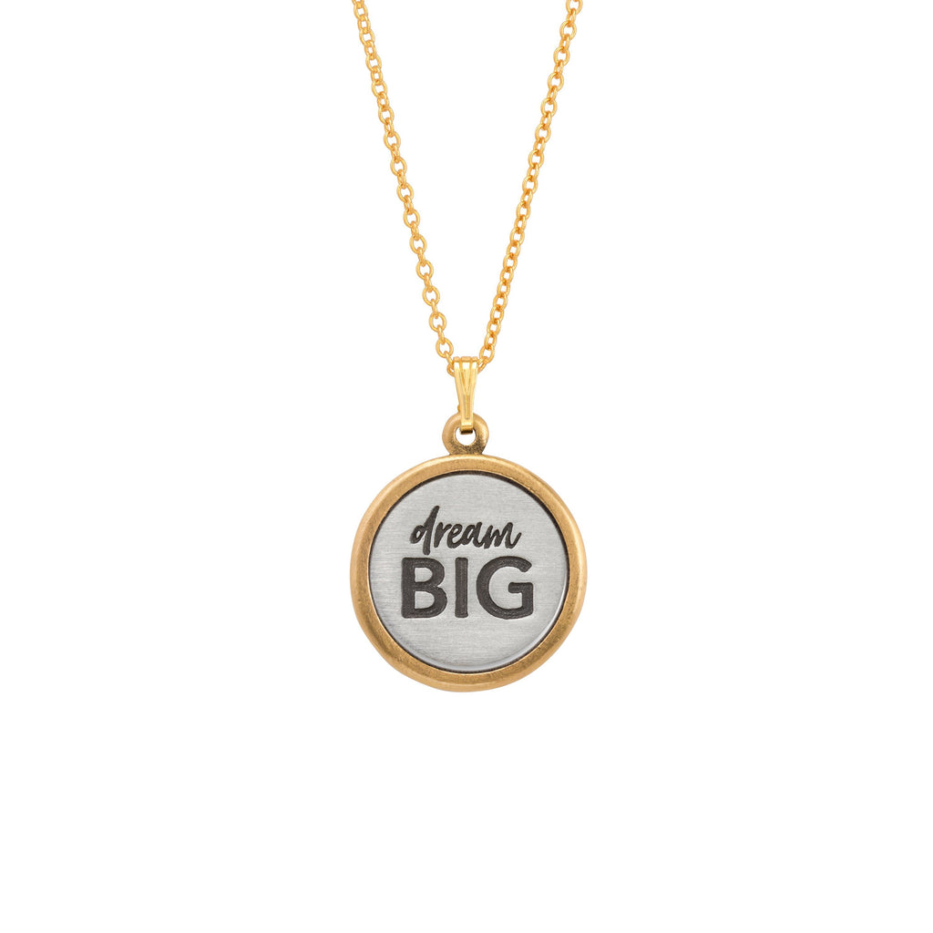 Dream Big Necklace-Necklace-finish:18kt Gold Plated-Luca + Danni