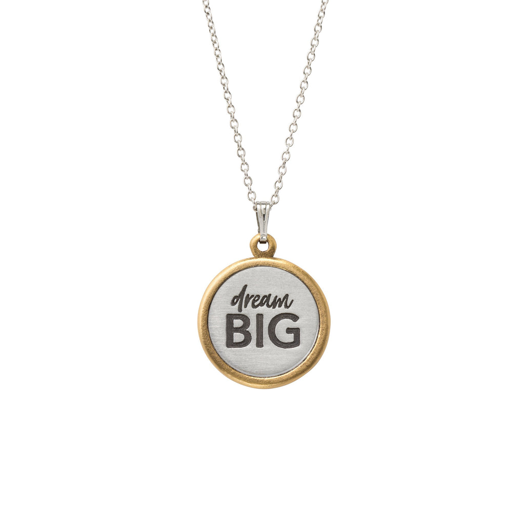 Dream Big Necklace-Necklace-finish:Silver Plated-Luca + Danni