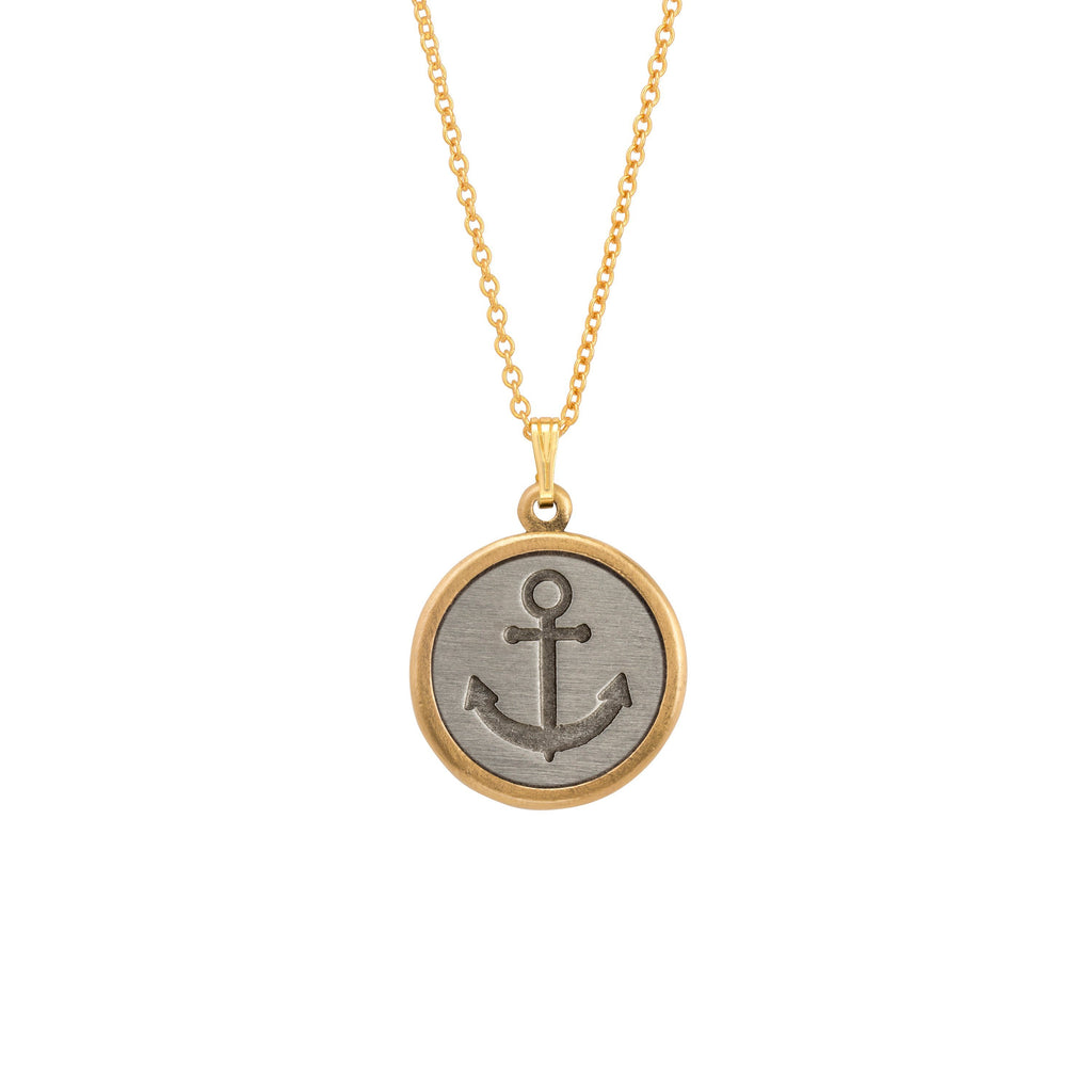 Stay Anchored Necklace