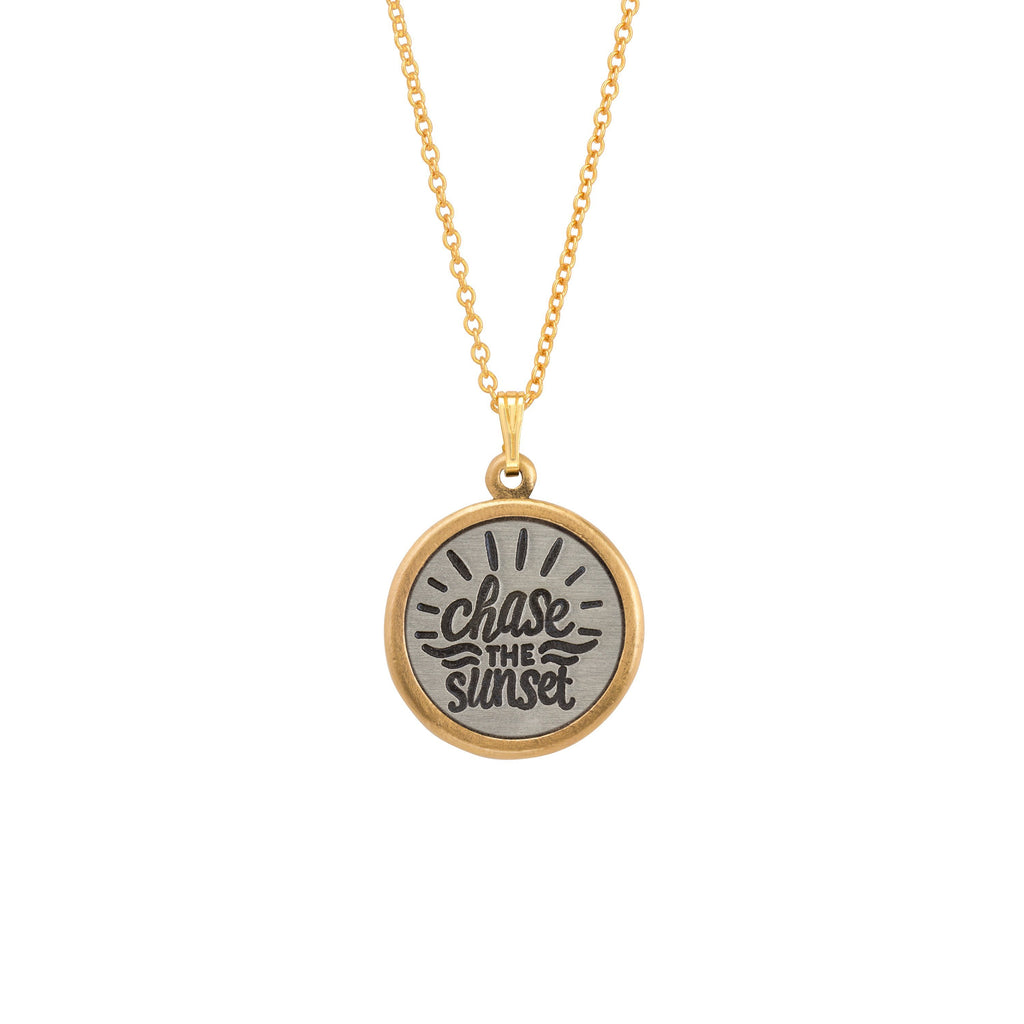 Chase the Sunset Necklace-Necklace-finish:18kt Gold Plated-Luca + Danni