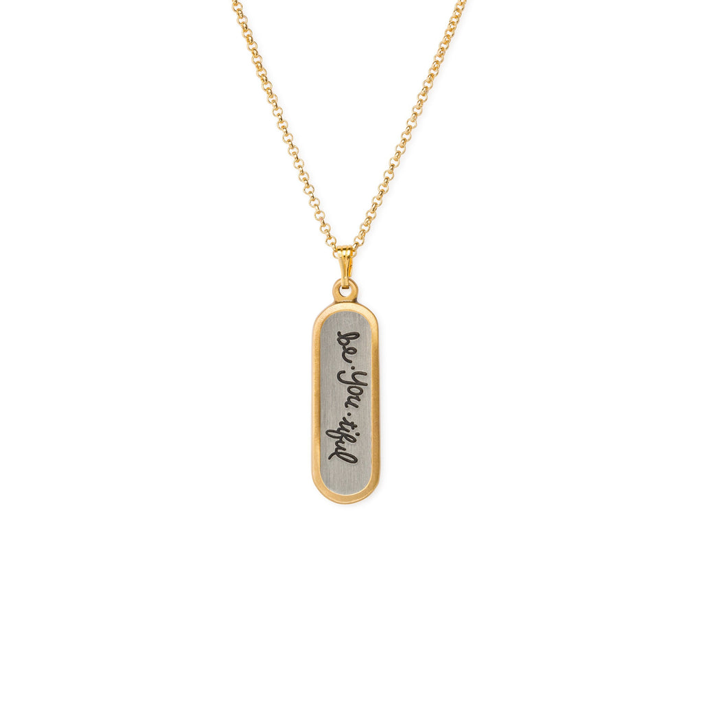 Be-you-iful Necklace-Necklace-finish:18kt Gold Plated-Luca + Danni