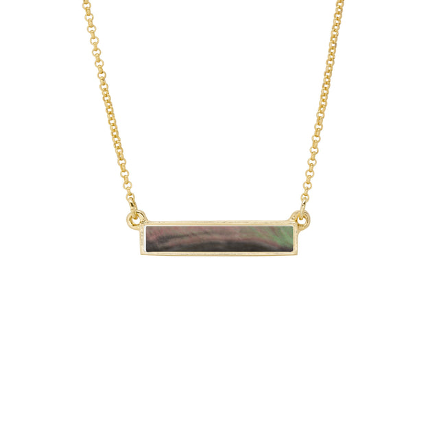 Hudson Necklace in Tahiti Mother of Pearl