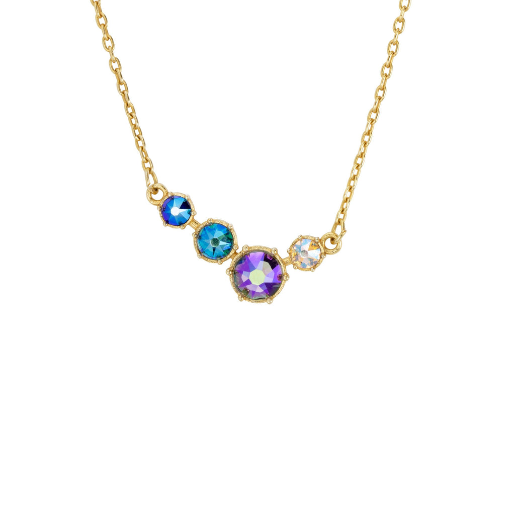 Lulu Necklace-Necklace-finish:Gold-Luca + Danni
