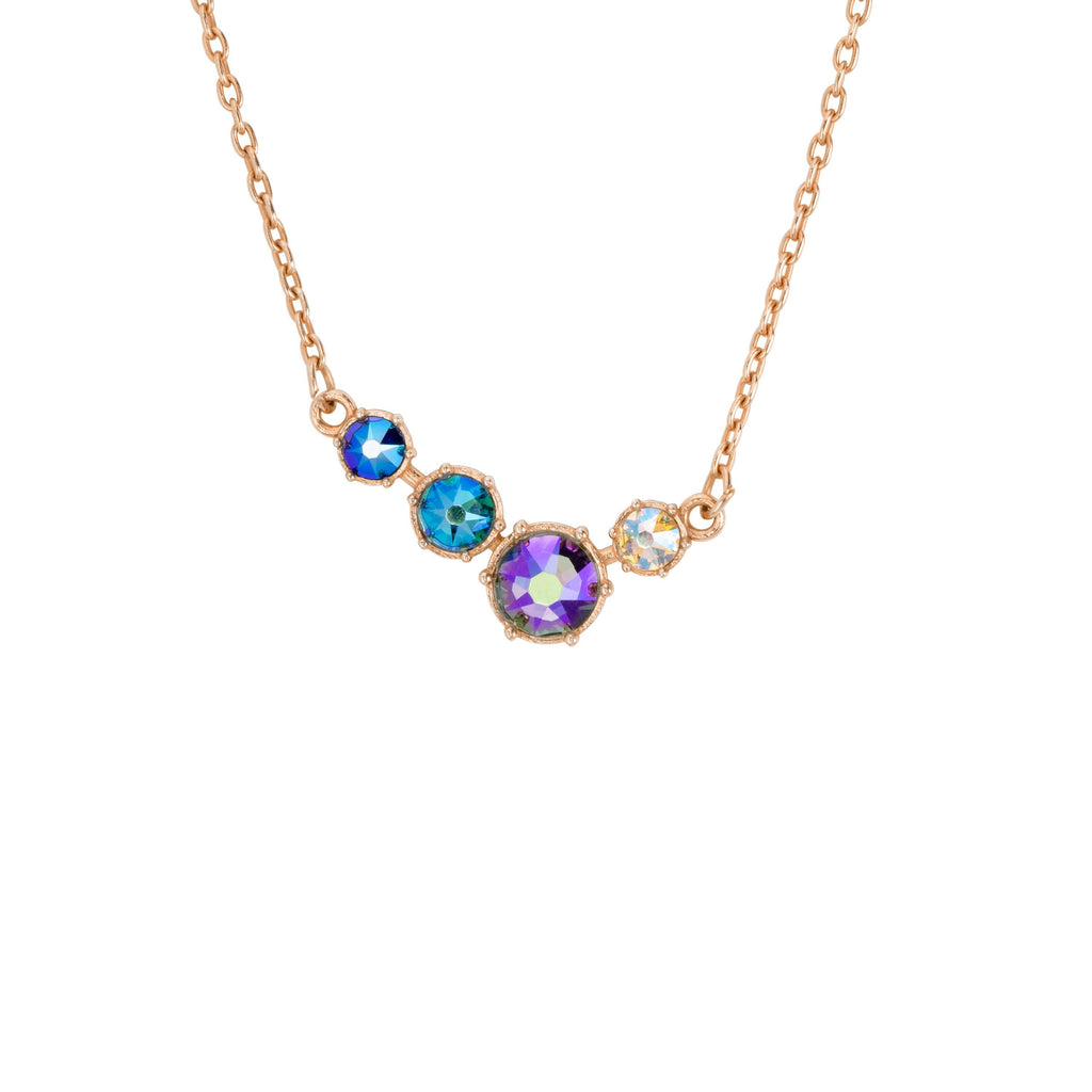 Lulu Necklace-Necklace-finish:Rose Gold-Luca + Danni