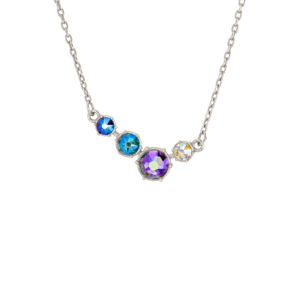 Lulu Necklace-Necklace-finish:Silver-Luca + Danni